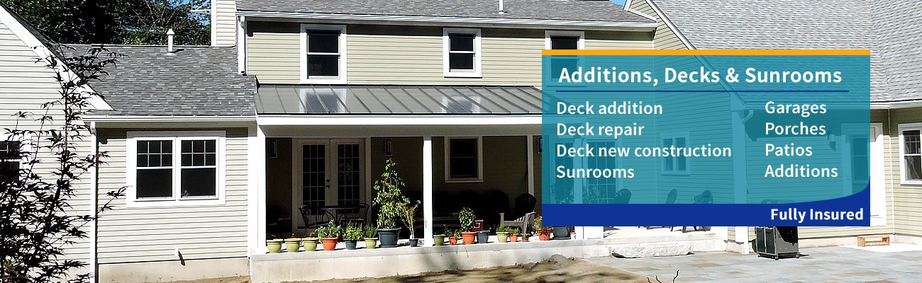 Brouillette Building & Remodeling - Additions, Decks & Sunrooms serving Southern New Hampshire